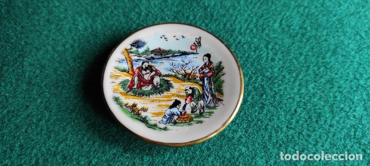 Antigüedades: PLATITO DE PORCELANA CHINA - Foto 2 - 247220755