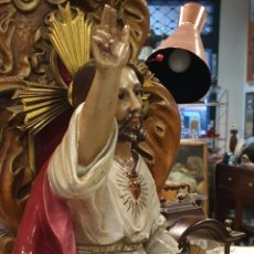 Antigüedades: SAGRADO CORAZÓN DE JESÚS. Lote 247237335