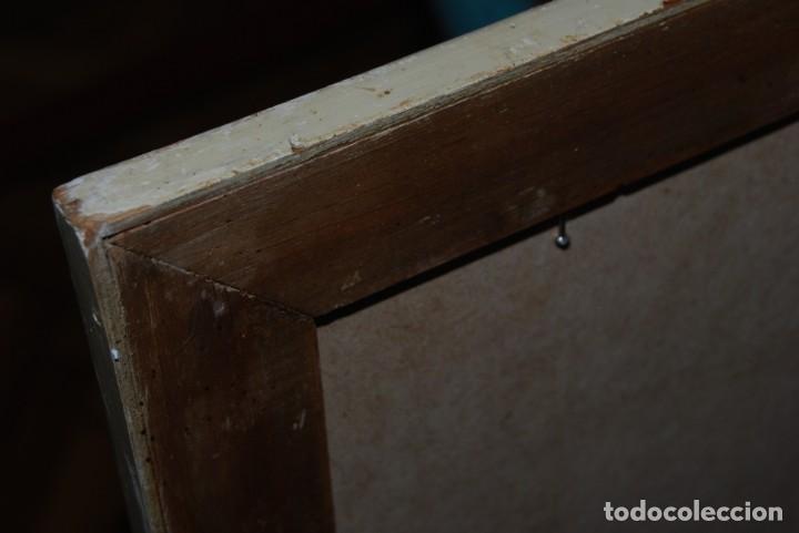 Antigüedades: EXCELENTE ESPEJO - MARCO DE MADERA Y ESPEJO - AÑOS 20-30 - Foto 13 - 247277940