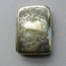 Antigüedades: ANTIGUA PITILLERA PLATEADA.INGLATERRA SHEFFIELD 1900-1906. Lote 247279505