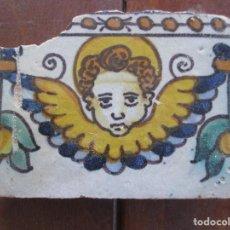 Antigüedades: AZULEJO PINTADO SIGLO XVI. Lote 247327680