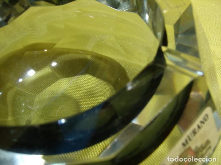 Antigüedades: Juego fumador cristal de Murano, años 70, Nuevo sin usar. - Foto 10 - 247372045