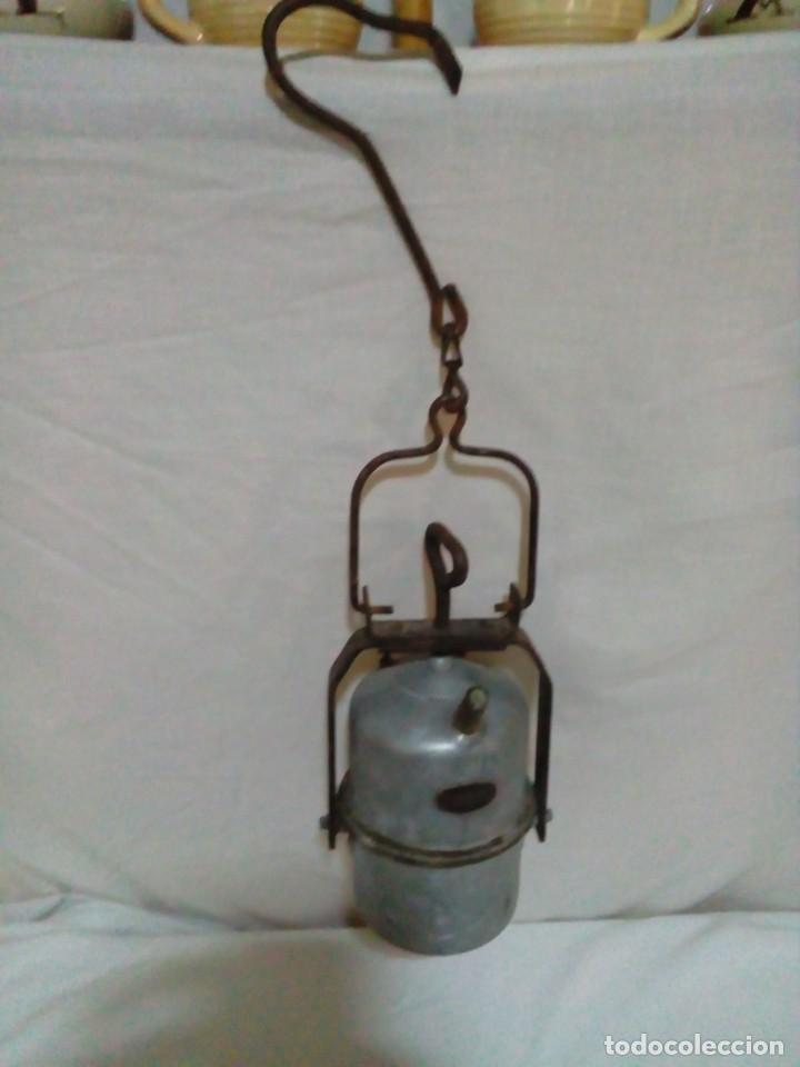 Antigüedades: lampara de carburo de mina marca ARRAS - Foto 4 - 247443380