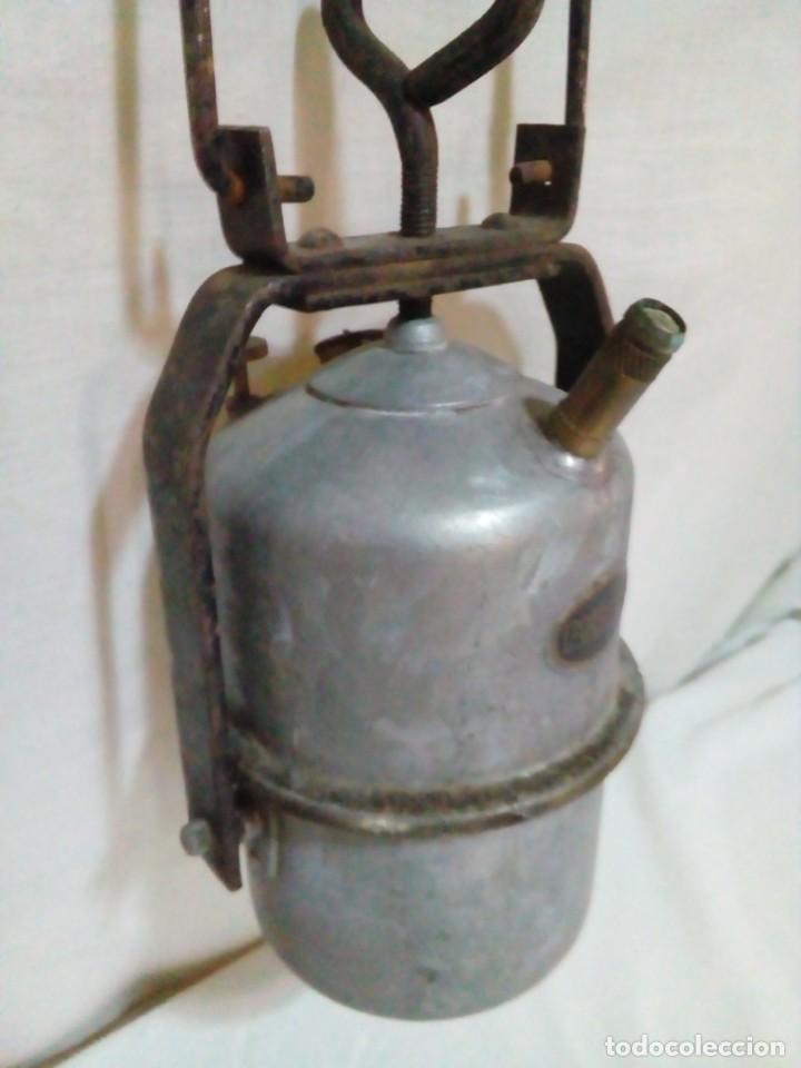 Antigüedades: lampara de carburo de mina marca ARRAS - Foto 5 - 247443380