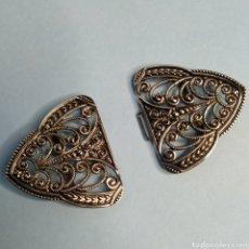 Antigüedades: ALAMARES DE METAL. Lote 247463375