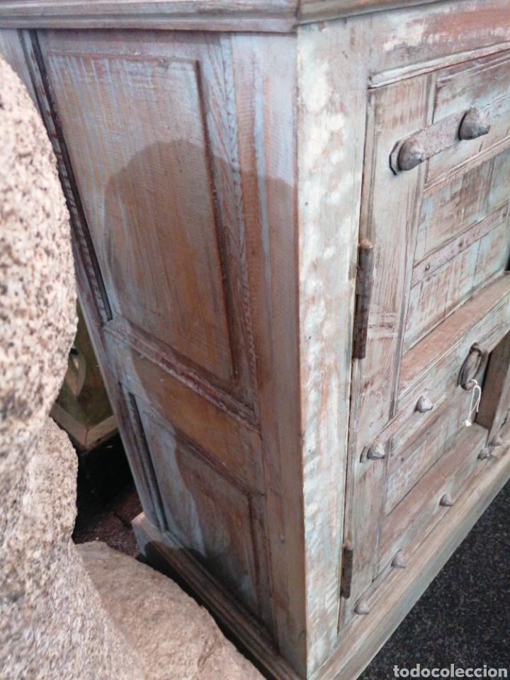 Antigüedades: Taquillon de madera maciza - Foto 3 - 247465795