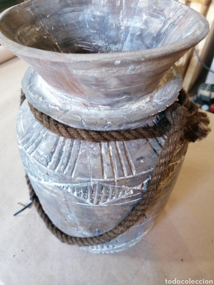 Antigüedades: Lechera de madera - Foto 2 - 247466775