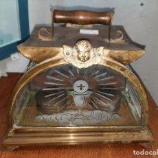 Antigüedades: FAROL PARA LLEVAR EL VIÁTICO. EXTREMADURA. S. XIX.. Lote 247470055