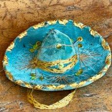 Antigüedades: SOMBRERO MEXICANO EN MINIATURA. Lote 247488630