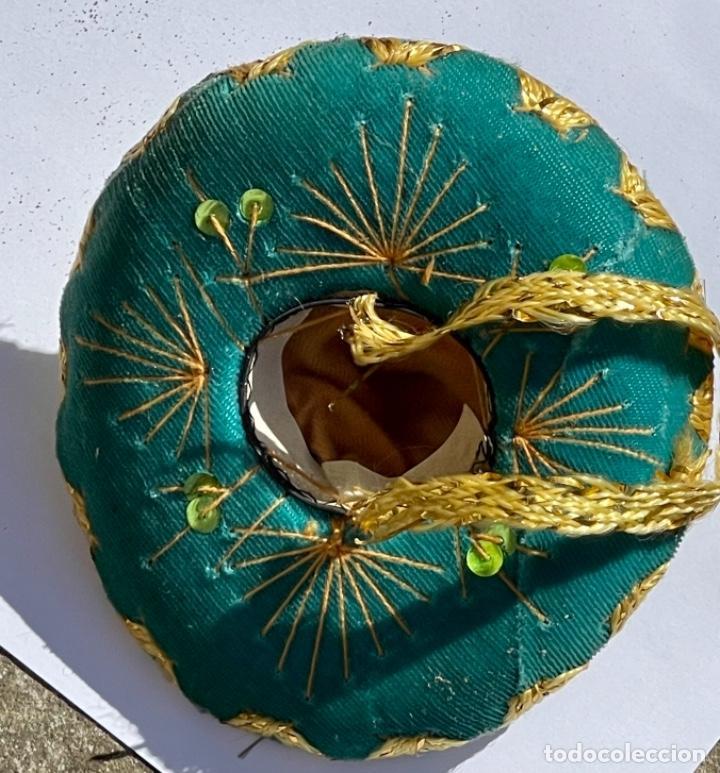 Antigüedades: SOMBRERO MEXICANO EN MINIATURA - Foto 5 - 247488630