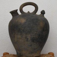 Antigüedades: BOTIJO DE CERAMICA NEGRA. Lote 247497525