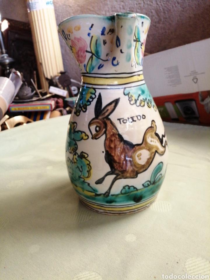 Antigüedades: Jarra en ceramica - Toledo - Foto 2 - 247548260