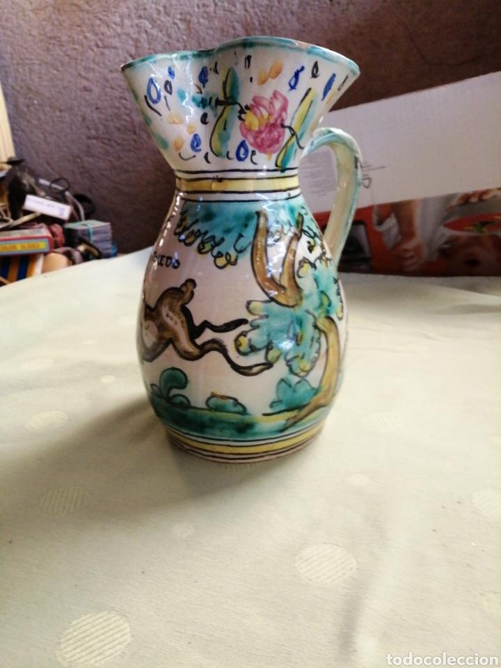 Antigüedades: Jarra en ceramica - Toledo - Foto 3 - 247548260