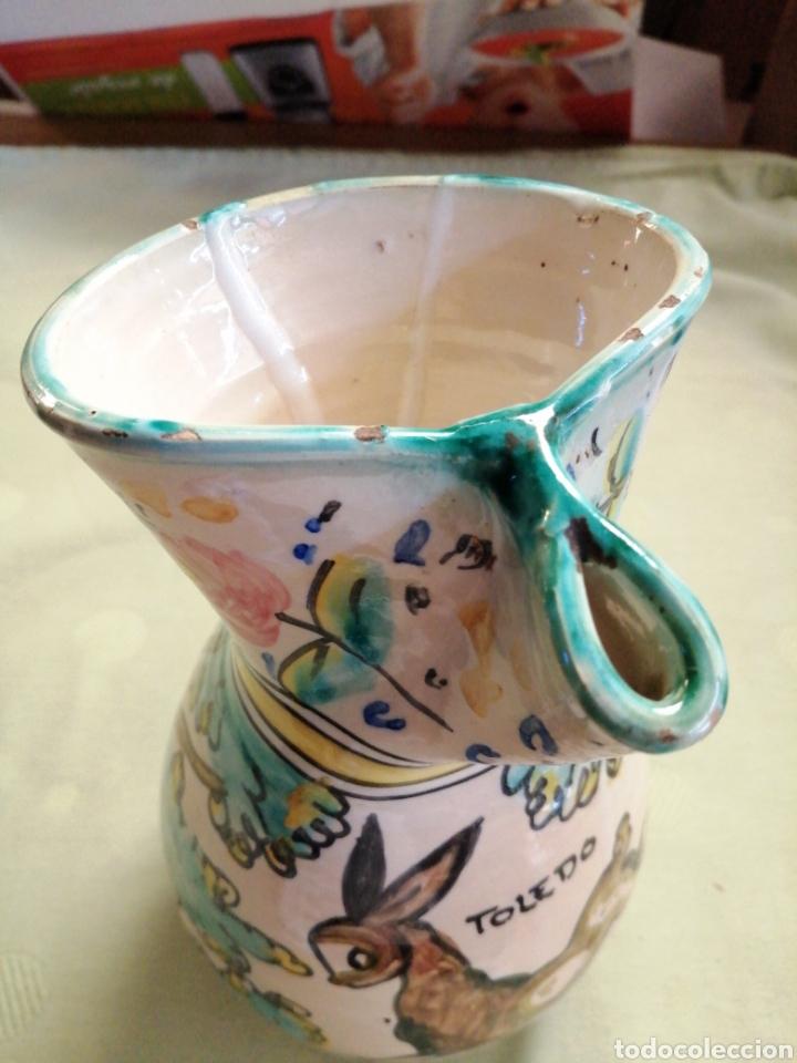 Antigüedades: Jarra en ceramica - Toledo - Foto 6 - 247548260