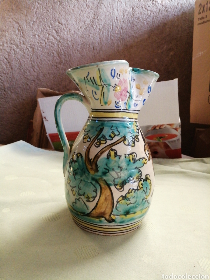 JARRA EN CERAMICA - TOLEDO (Antigüedades - Porcelanas y Cerámicas - Talavera)