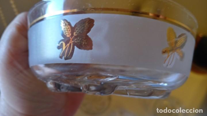 Antigüedades: juego de macedonia cristaleria italiana años 50 - Foto 2 - 247608470