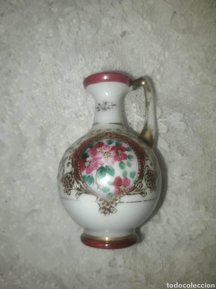 Antigüedades: JARRON PORCELANA JAPONESA ESTILO NORITAKE - Foto 2 - 247630705