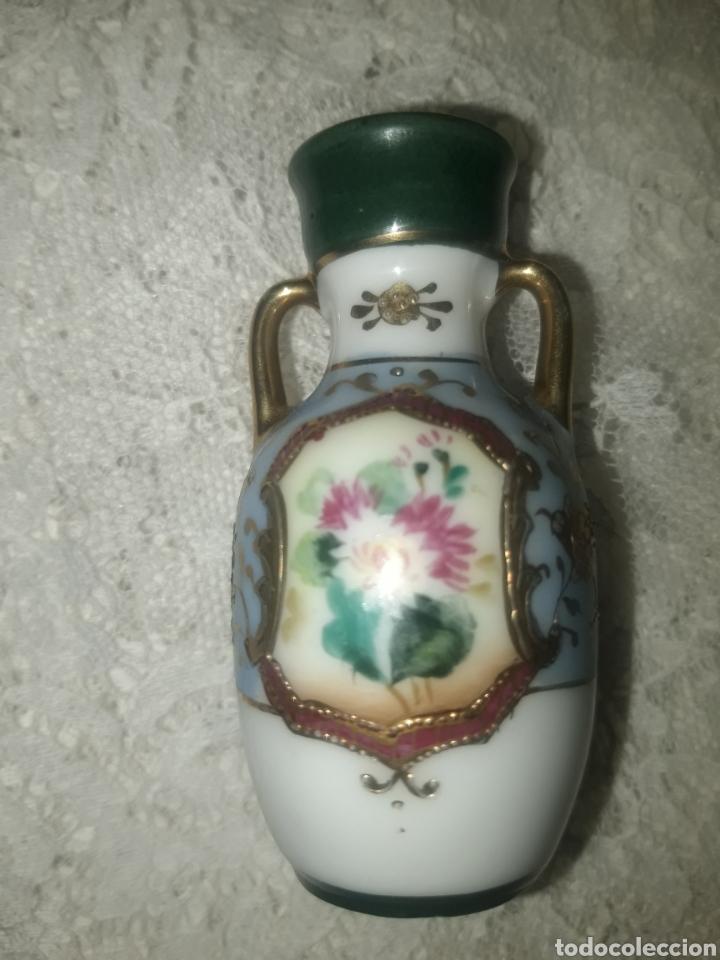 PRECIOSO JARRO DE PORCELANA JAPONESA ESTILO NORITAKE (Antigüedades - Porcelana y Cerámica - Japón)