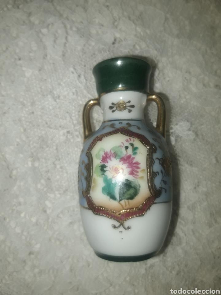 Antigüedades: PRECIOSO JARRO DE PORCELANA JAPONESA ESTILO NORITAKE - Foto 5 - 247630775