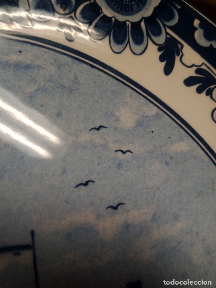 Antigüedades: Cerámica holandesa. Delfts Blauw de Zomer - Foto 3 - 247656940