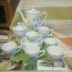 Antigüedades: JUEGO DE CAFE PORZELANIT 5 SERVICIOS COMPLETOS. Lote 247746055