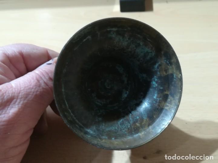 Antigüedades: PORTAVELAS / APROX 8 CM DIAMETRO / / CONS009 - Foto 3 - 247769540