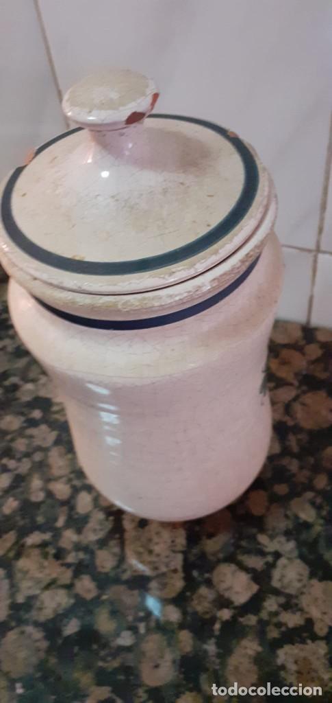 Antigüedades: ANTIGUO BOTE/TARRO DE FARMACIA - Foto 2 - 247923255