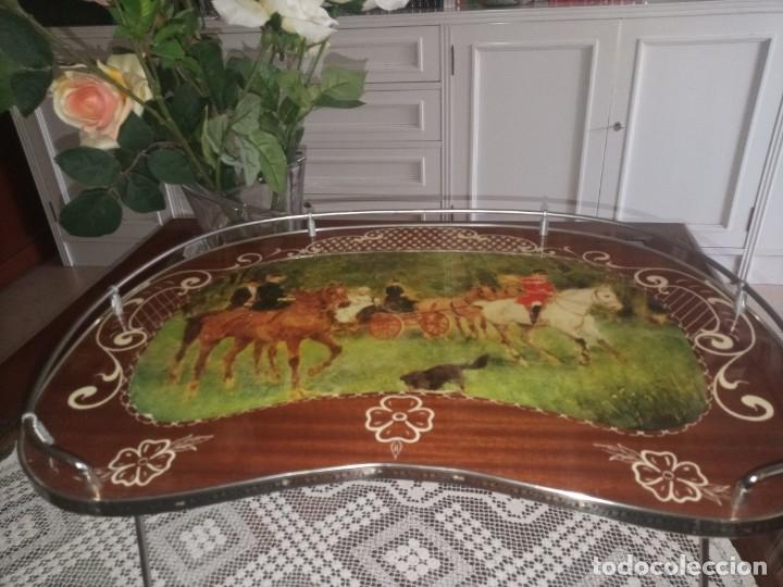 MESITA BANDEJA PLEGABLE (Antigüedades - Hogar y Decoración - Bandejas Antiguas)