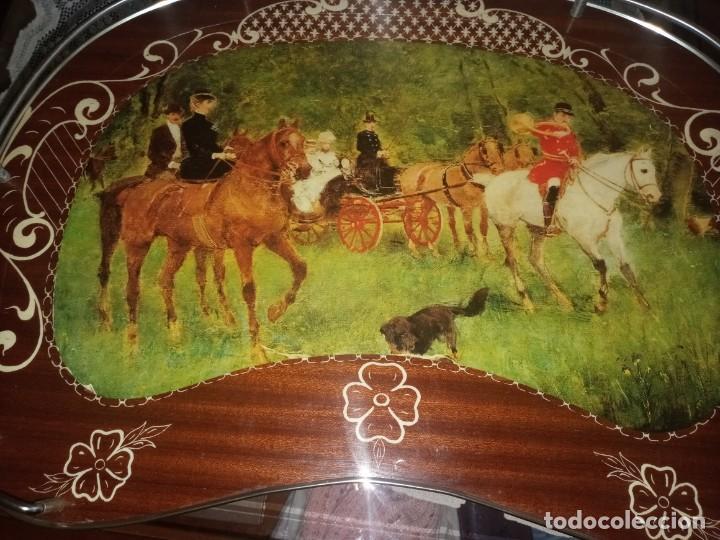 Antigüedades: MESITA BANDEJA PLEGABLE - Foto 2 - 247926885