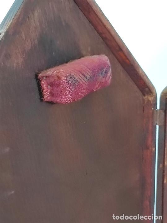 Antigüedades: Preciosa Custodia Neogótica - en Plata y Bronce Cincelado - con Caja Original - Altura 64 cm - S.XIX - Foto 43 - 247928685