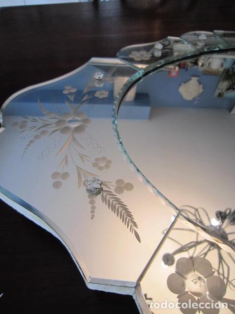 Antigüedades: Espejo Veneciano - Foto 3 - 247937005