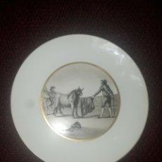 Antigüedades: PLATO BIDASOA SERIE: TOROS. Lote 247986675