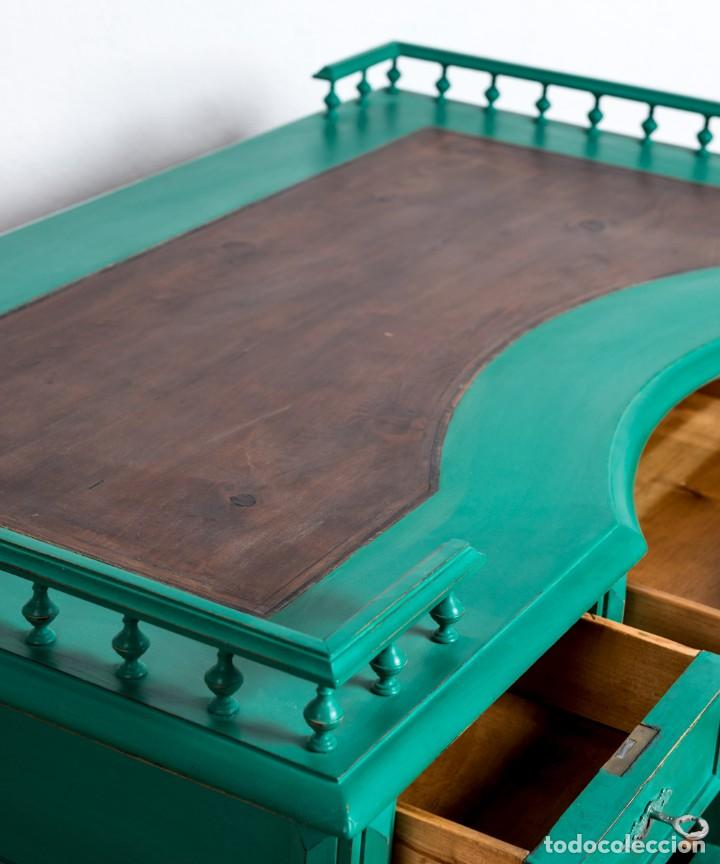 Antigüedades: Escritorio Antiguo Restaurado Aurelie - Foto 3 - 248030425