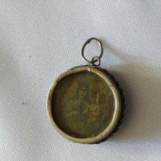 Antigüedades: PEQUEÑO RELICARIO CON IMAGEN DE LA VIRGEN DEL CARMEN. Lote 248073655