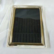 Antiguidades: PRECIOSO MARCO DE PLATA DE LEY - ISABEL CABANILLAS - 20CM X 15 CM. Lote 248074650