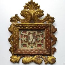 Antigüedades: GRAN RELICARIO DEL S.XVIII. Lote 248084140