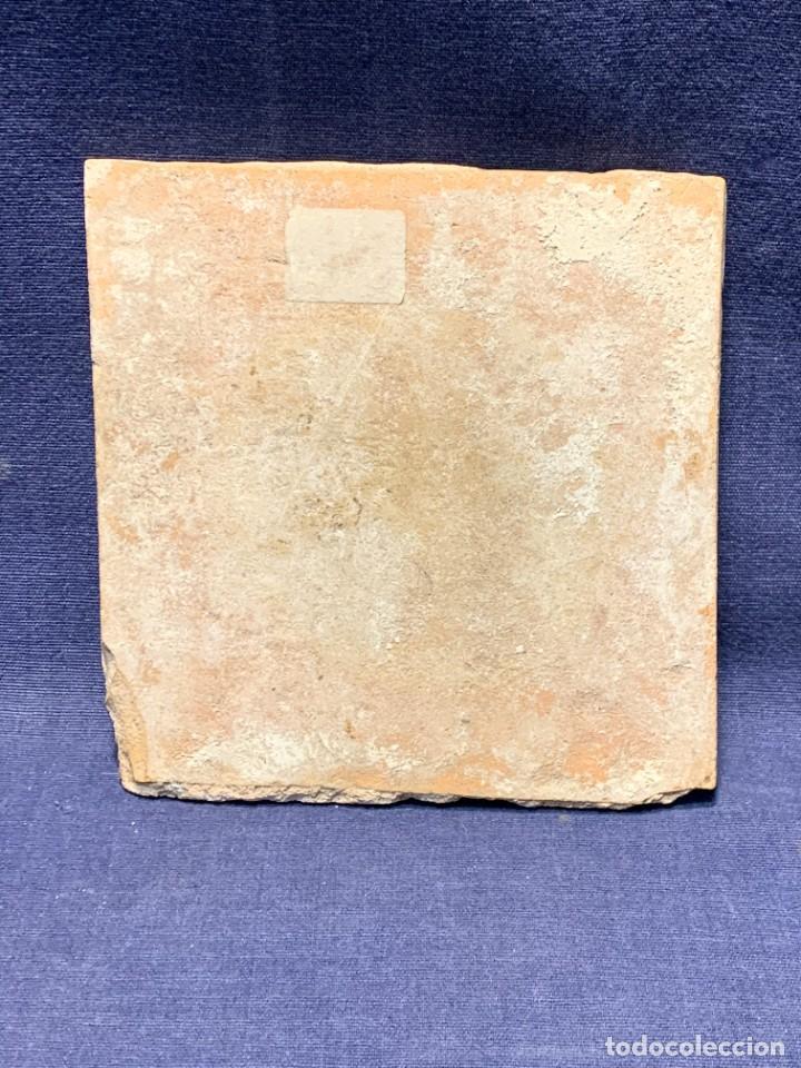 Antigüedades: RARA PLACA CERAMICA AZULEJO DELFT HOLANDA S XVIII MOTIVO RELIGIOSO RESURRECCION CRISTO SEÑOR 13X13CM - Foto 11 - 248128670