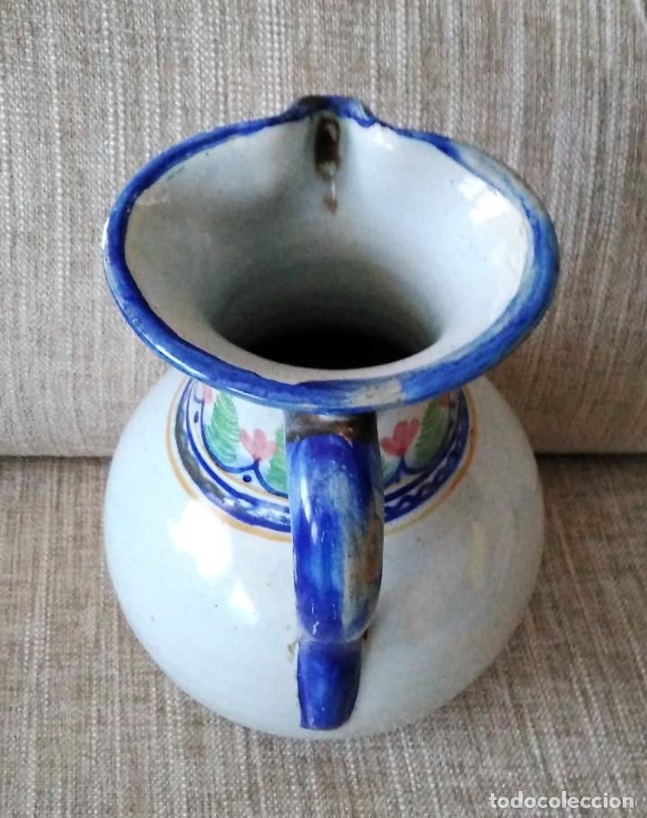 Antigüedades: JARRA DE CERAMICA CON ESCUDO MONASTERIO DE YUSTE - Foto 7 - 248228515
