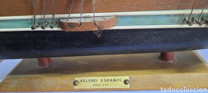 Antigüedades: VELERO ESPAÑOL SIGLO XVII - Foto 5 - 248248250