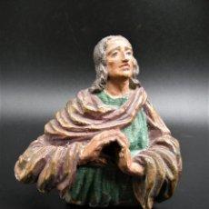 Antigüedades: TALLA SANTO S.XVII?. Lote 248271045