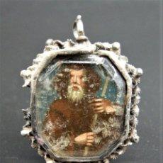 Antigüedades: RELICARIO FILIGRANA PLATA. Lote 248274100