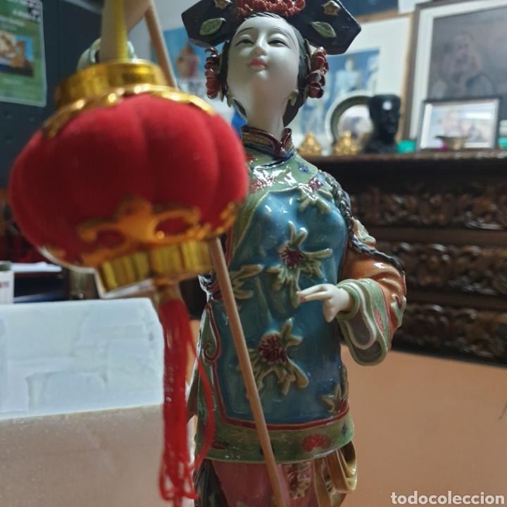 Antigüedades: Preciosa China en porcelana - Foto 2 - 248276780