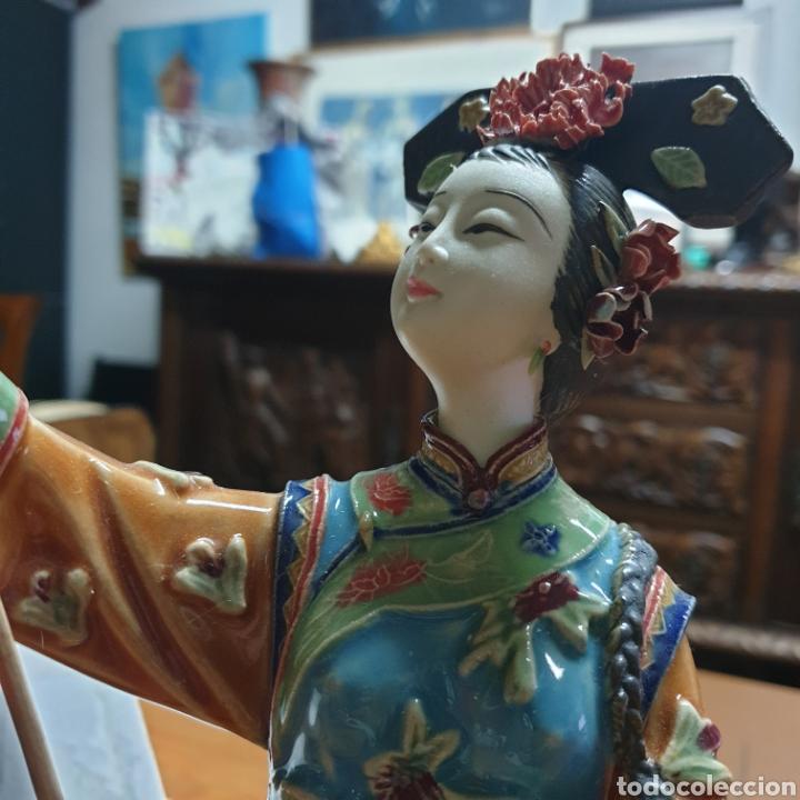 Antigüedades: Preciosa China en porcelana - Foto 5 - 248276780