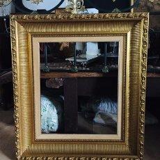 Antigüedades: MARCO DORADO GRANDE DE MADERA. Lote 248300905