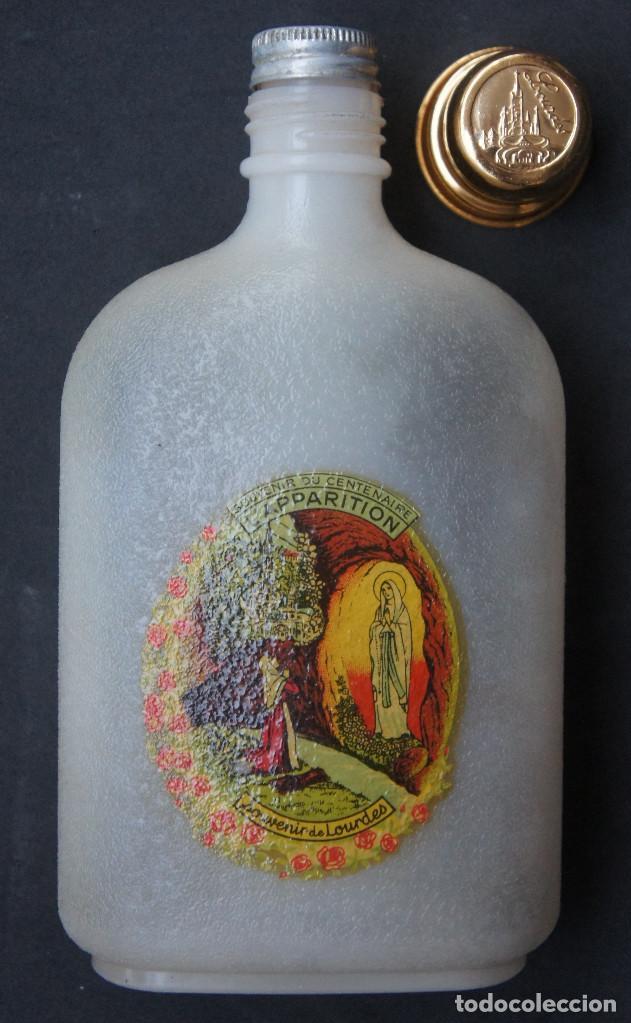 Antigüedades: Botella de plástico del centenario de las apariciones de la Virgen de Lourdes - Foto 5 - 248362825