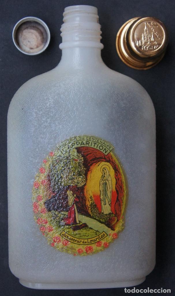 Antigüedades: Botella de plástico del centenario de las apariciones de la Virgen de Lourdes - Foto 7 - 248362825