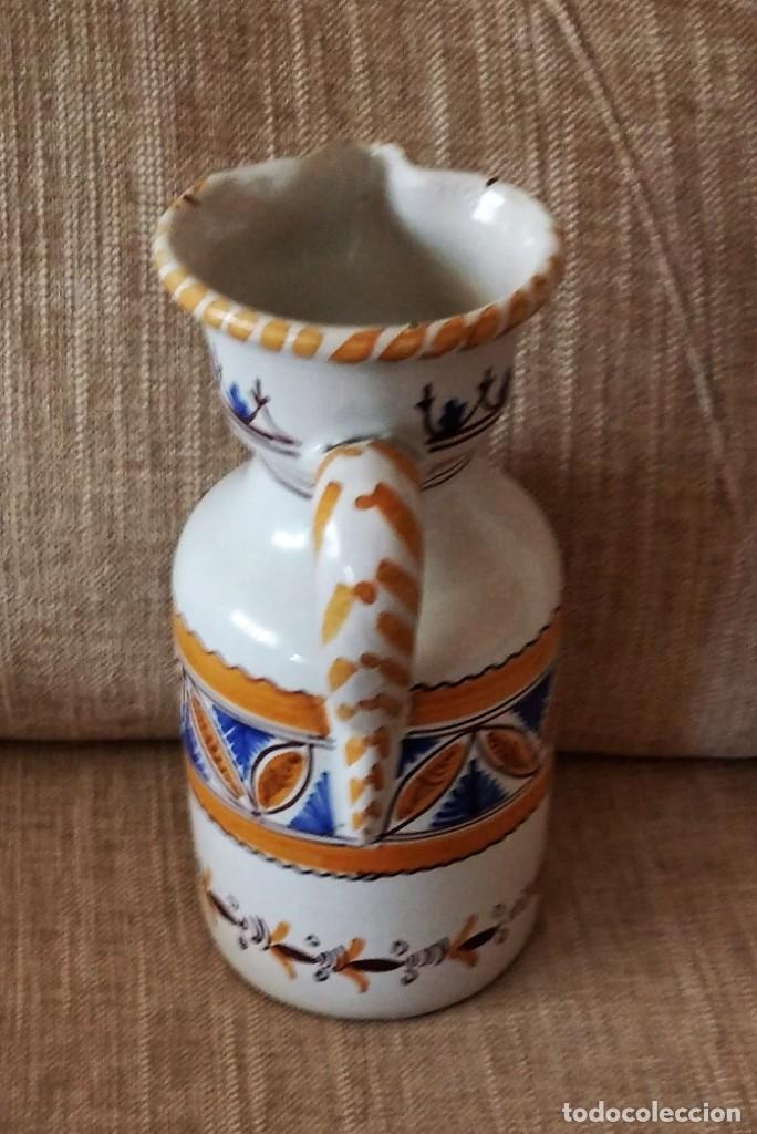 Antigüedades: ANTIGUA JARRA DE CERÁMICA DE PUENTE DEL ARZOBISPO - Foto 2 - 248417550
