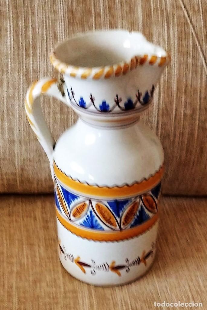 Antigüedades: ANTIGUA JARRA DE CERÁMICA DE PUENTE DEL ARZOBISPO - Foto 3 - 248417550