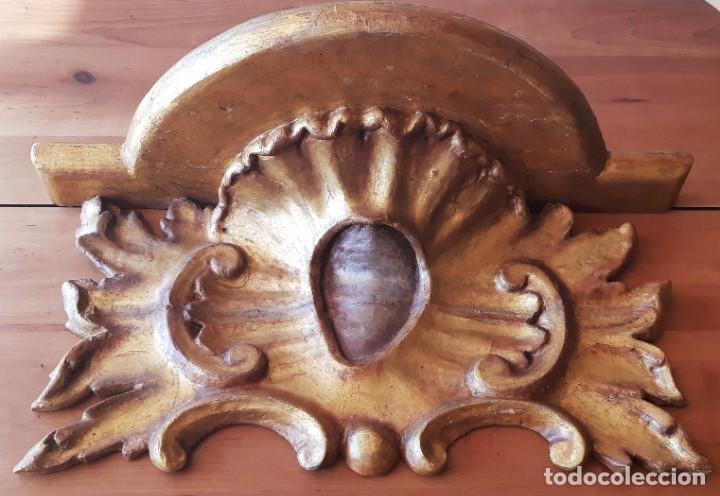 MÉNSULA ITALIANA DEL SIGLO XIX (Antigüedades - Muebles Antiguos - Ménsulas Antiguas)