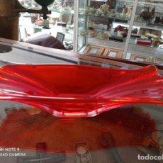 Antigüedades: ELEGANTE CENTRO DE CRISTAL DE MURANO DE LOS AÑOS 60. VER FOTOS. Lote 248445425